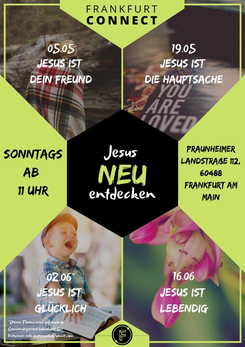 Flyer JesusNEUentdecken
